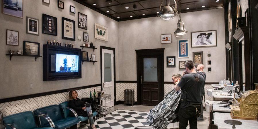 barber shop vegas speakeasy