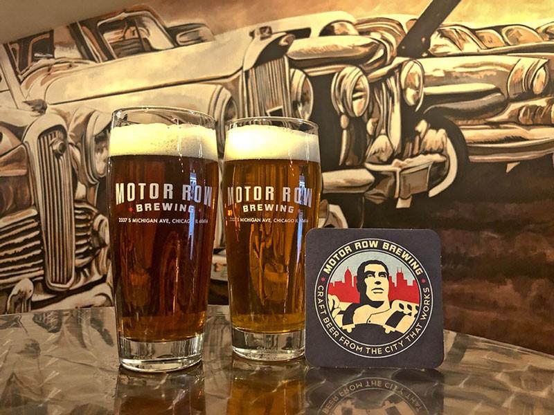 Motor Row brewery ieee chiicago