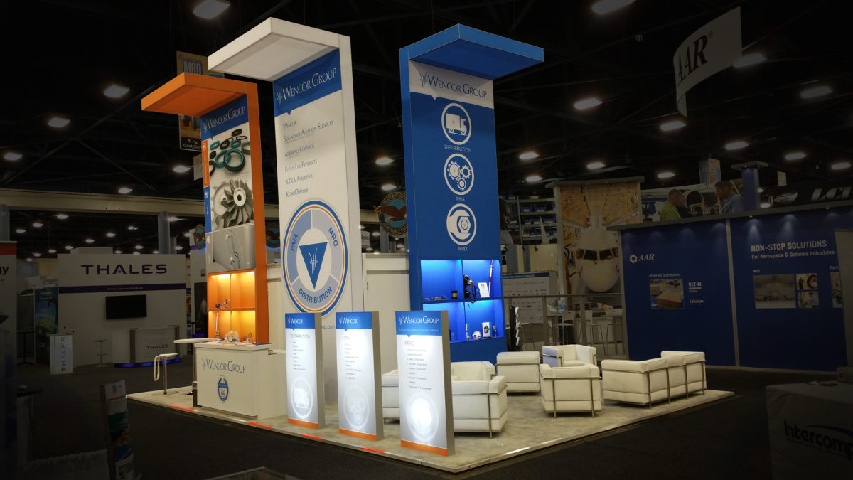wencot trade show booth
